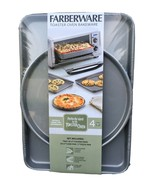 Farberware Toaster Oven Bakeware 4 Piece Set NEW - $20.89