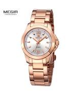 Women Couple Dress Wrist Watches Steel Simple Relogios Feminino Clock Wo... - $49.22