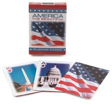 Bicycle America The Beautiful Poker Size Standard Index Playing Cards - $0.01