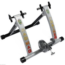 Cycling Trainer Bike Stationary Bicycle Stand Indoor Exercise Resistance... - $123.58