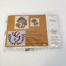 "Monogram Cross Stitch Kit FInished Size 2 3/4"" x 3 1/4"" Creative Circle ... - $7.91"