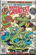 Marvel's Greatest Comics #70 (1977) *Bronze Age / Marvel Comics / Fantas... - $3.50