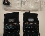 PRO-BIKER MCS-01C Motorcycle Racing Full-Finger Gloves - Black (L) -1 Pair