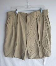 TOMMY BAHAMA - Men's Khaki Green 100% Silk Relaxed Casual Shorts - SIZE 36   - $12.99