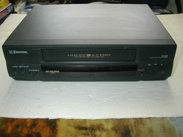 Emerson EV804N Vcr Player/ Recorder Vhs For Parts Or Repair - $14.84