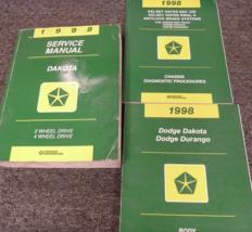 1998 dodge dakota service repair workshop manual set with body & Chassis - $79.19
