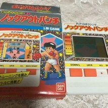 Bandai Game Watch Pocket Club P-1 R.P.G. Boxing Knock out punch from Japan - $106.99