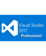 Visual Studio 2017 Professional  3PC - Instant Delivery - $24.00