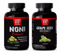 Antiaging capsules - NONI – GRAPE SEED EXTRACT COMBO - noni extract powder - $22.40