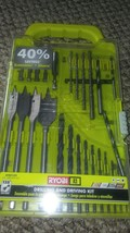 Ryobi Drilling and Driving Kit 31 Piece with Case - $13.64