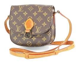 Authentic LOUIS VUITTON Saint Cloud PM Monogram Shoulder Bag #34524 - $479.00