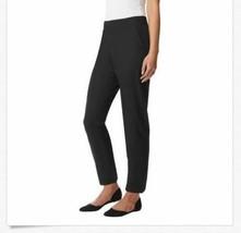 Nuovo 32 Degrees Pantaloni da Donna Nero Caviglia Lunghezza Stretch Infilare, image 2