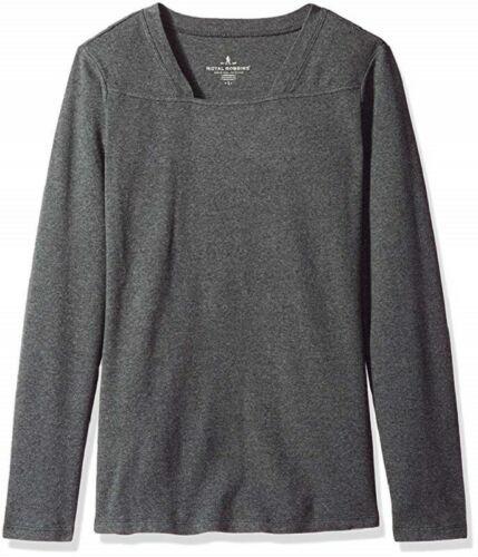 XS 0-2 Royal Robbins Women's Kick Back Square Neck Top Long Sleeve Tee Shirt NEW