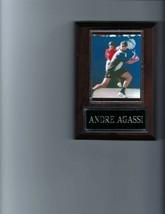 ANDRE AGASSI PLAQUE PHOTO TENNIS - £2.02 GBP