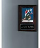 ANDRE AGASSI PLAQUE PHOTO TENNIS - $2.76