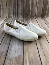 Keds Women's Vintage 1990's Champion Slip-On shoe White sz. 6.5 - $37.39
