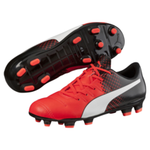 45bb6f4983eb4d Kids Puma Evopower 4.3 Tricks FG Cleated Soccer Shoe Red 4.5  NGR22-M367 -
