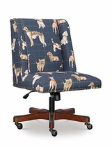 Linon Home Decor Products Linon Clayton Navy Dog Adjustable Office Chair - $999.99