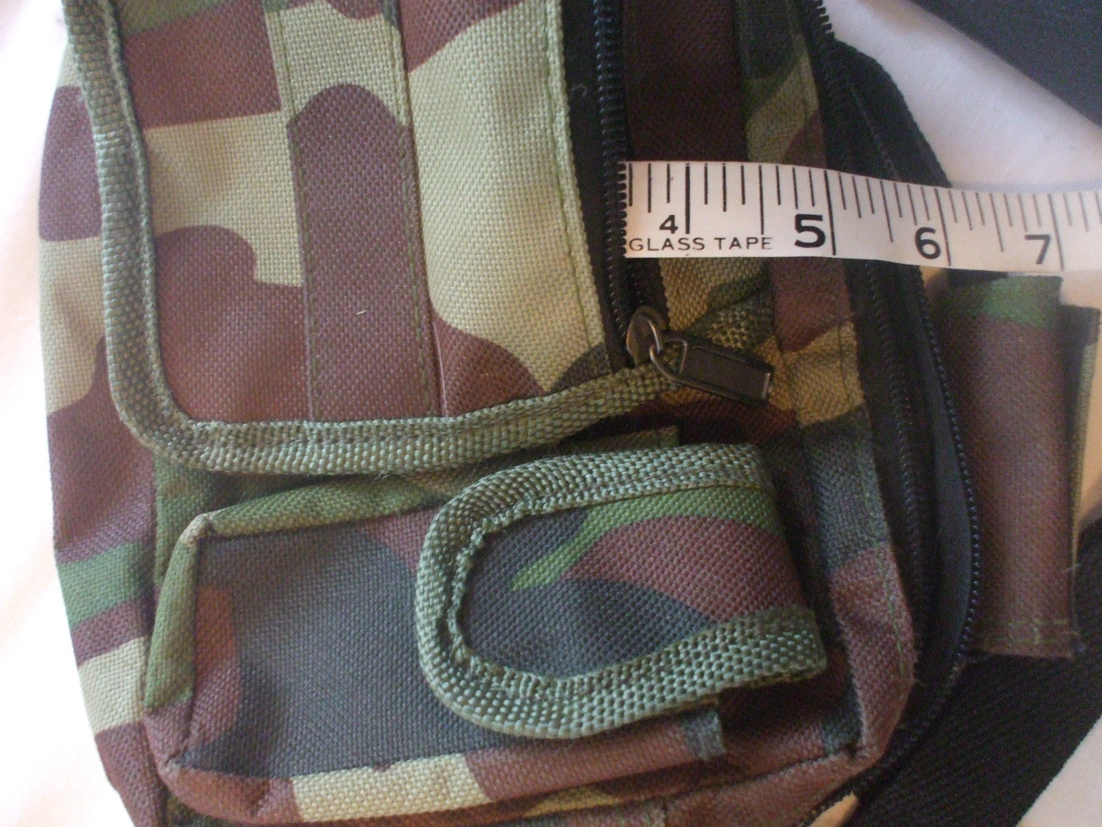 Camouflage Purse With Adjustable Strap