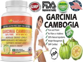 80% HCA PURE GARCINIA CAMBOGIA PREMIUM EXTRACT ALL NATURAL APPETITE SUPP... - $16.48