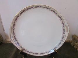 "Rosenthal China Kronach Bavaria Open Handled Platter 11-7/8"" Sylvia Pink Roses - $8.86"
