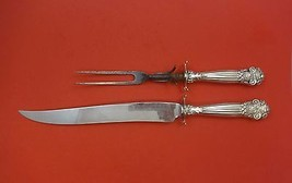 Georgian by Towle Sterling Silver Roast Carving Set 2pc HHWS  (Knife & Fork) - $388.55