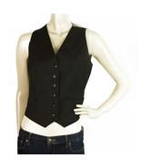Dolce & Gabbana Black Wool Front Silk Animal Back Waistcoat Gillet Vest ... - $227.70