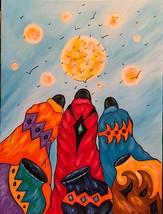 "Native American Sioux artist Kathy Kills Thunder ""Zit Kala"" (Bird) - $230.00"