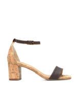 Vegan Heel Sandal Open Toe Organic fibers Ankle-Strap Buckle Casual Brea... - $110.70
