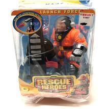 Fisher Price Rescue Heroes Launch Force 2001 Roger Houston Action Figure... - $39.59
