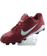 NIKE Mens Soccer Cleats Size 13  Leather Football Athletic Shoes 010810 PA2 - $39.37