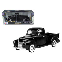 1940 Ford Pickup Black 1/18 Diecast Model Car by Motormax 73170bk - $61.11
