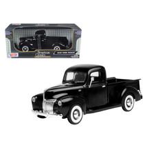 1940 Ford Pickup Black 1/18 Diecast Model Car by Motormax 73170bk - $61.11