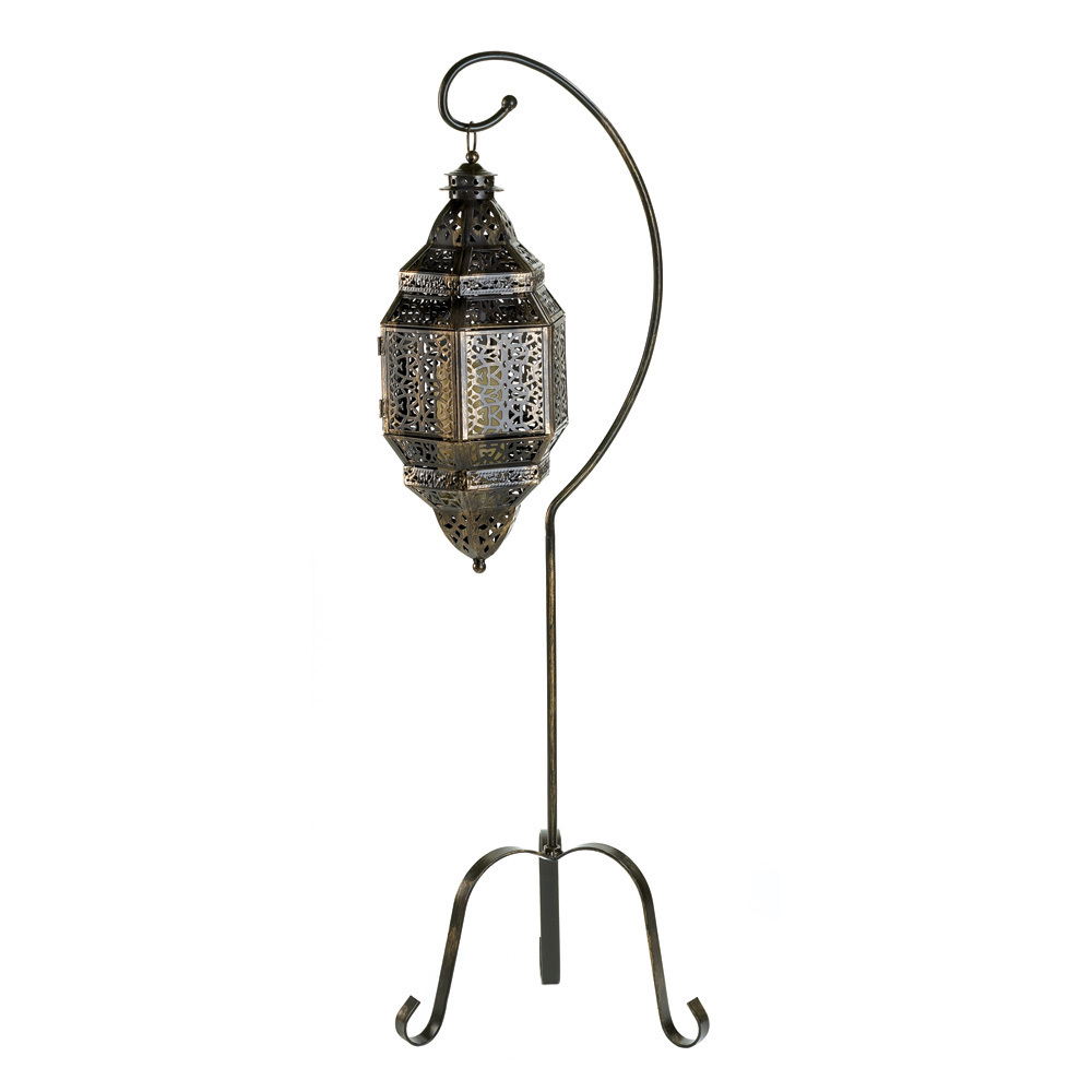 Moroccan Candle Lantern Stand 10012575