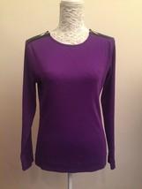 Womens Ralph Lauren Top Purple Size Large - $20.82