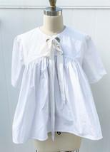 Ter Et Bantine Women IT46/US10 L White Oversized Boxy Top Cotton Italy T... - $398.00