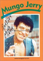 RAY DORSET AUTOGRAPH *MUNGO JERRY* HAND SIGNED 6X4 PHOTOCARD - $24.23