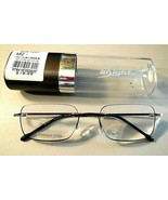 +1.25 Insight Large Rimless Onyx Edgeglow Reading Glasses  Stainless Ste... - $14.69