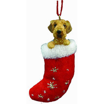 Airedale Terrier Santa's Little Pals Ornament - $11.95