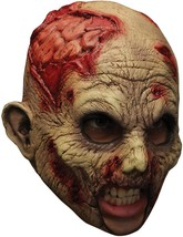 Undead Chinless Mask Adult Zombie Bloody Rotted Gory Halloween Costume T... - $37.99
