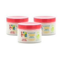 Just for Me Natural Hair Milk Smoothing Edges Creme, Tames Edges & Adds Shine, W