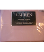 Ralph Lauren Dunham Sateen Ballet Pink Sheet Set Queen - $76.00