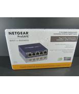 NEW!! NETGEAR Business 5-Port Gigabit Ethernet Switch - GS105 - $49.49