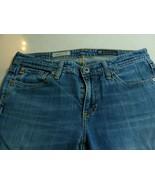 AG Adriano Goldschmied The Stevie Womens 28R Slim Straight Jeans W 30 I ... - $29.58