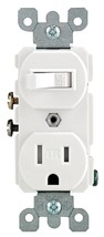 Switch/Outlt Tamperres White,No R52-T5225-WS, Leviton Mfg Co Combined Shipping - $8.57