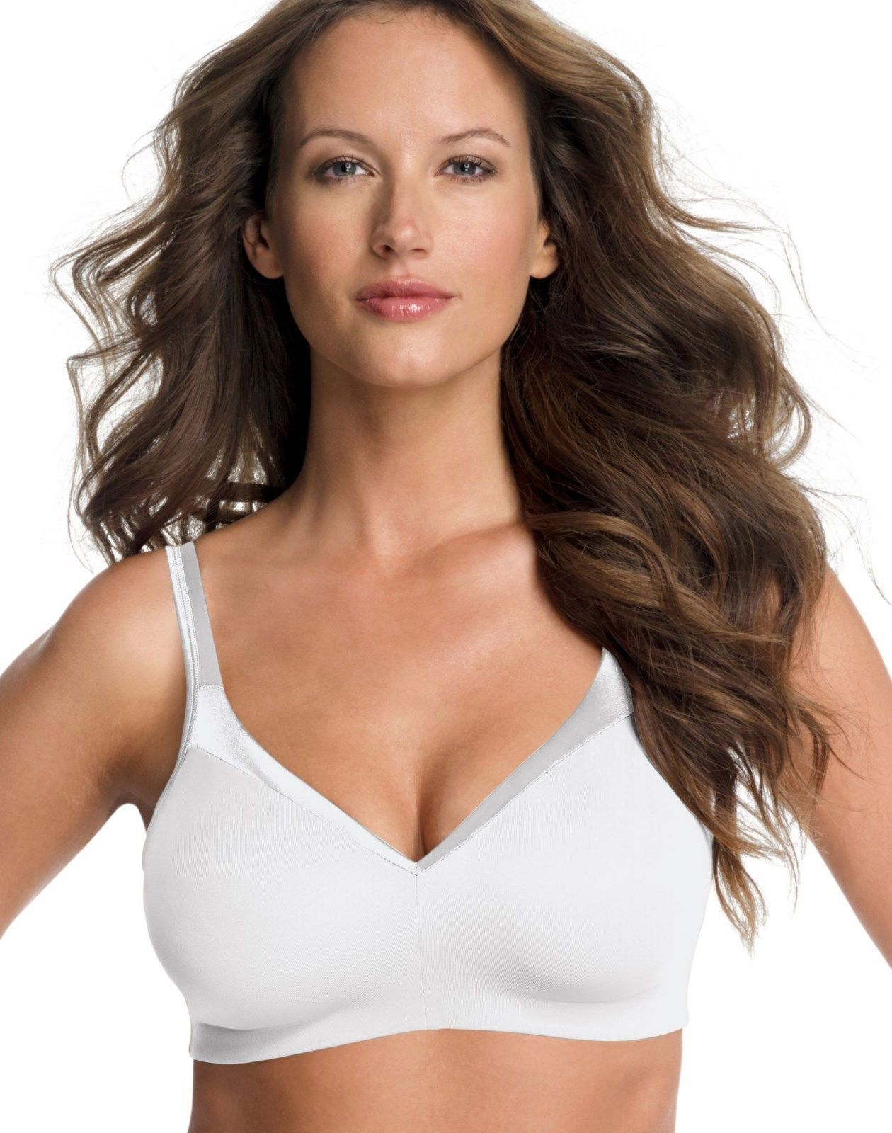ecbfea1909134 NEW Playtex Secrets Wirefree Bra 5676 38D and similar items