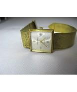 germinal Voltaire 17 Jewels Swiss made Vintage Watch good Running Condition - $257.13