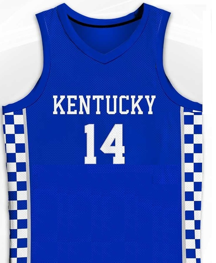 TYLER HERRO Kentucky Wildcats Blue College Jersey Any Size FREE WWJD Bracelet - $29.99