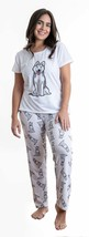 Dog Husky pajama set with pants for women - $35.00
