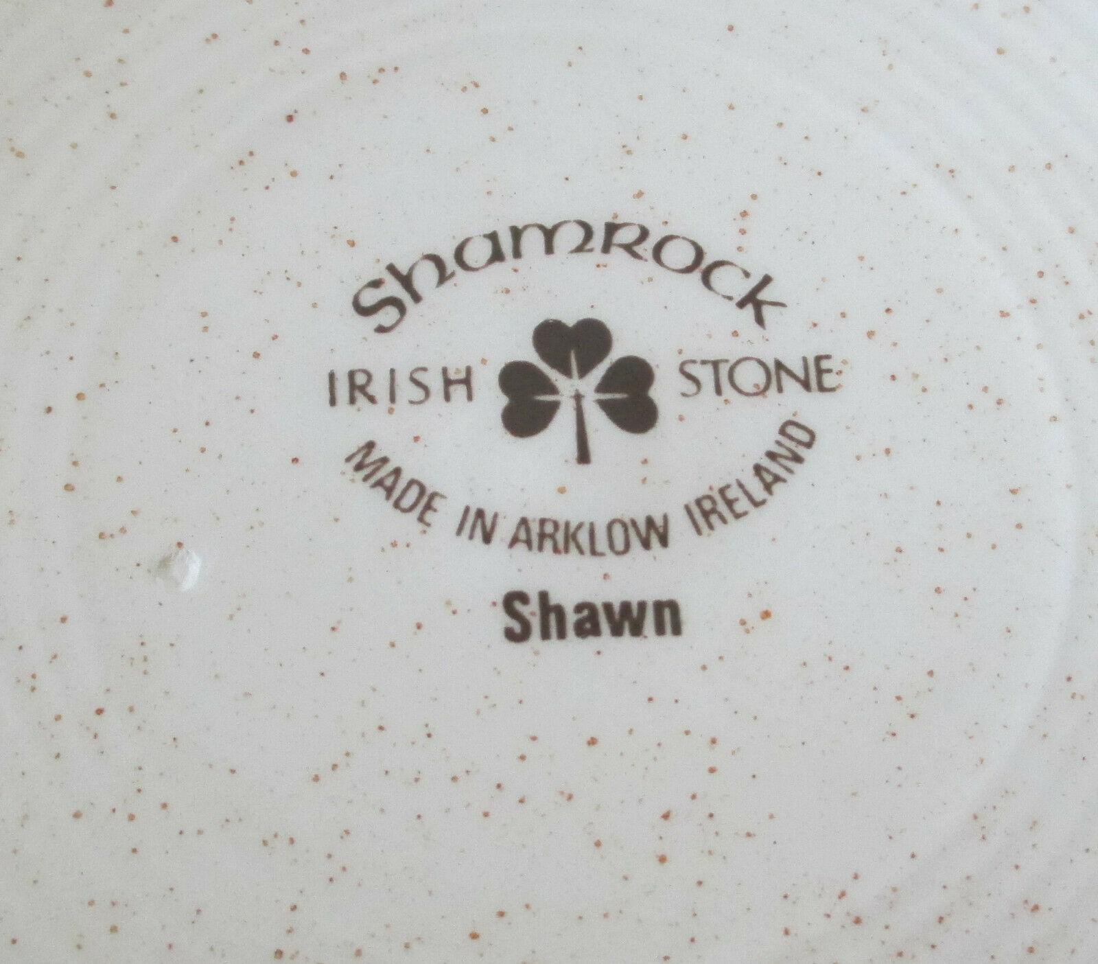 Arklow Ireland Irish Stone Shawn Dinner Plate set of 3 image 5